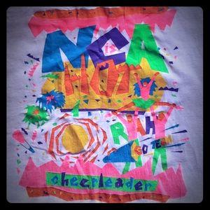 Vintage NCA cheer tshirt